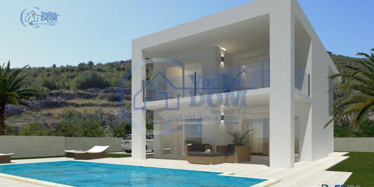 Hausbau Kroatien Villa Atria