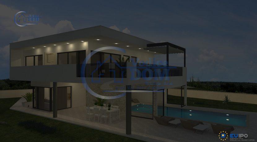 Moderna vila Pag II